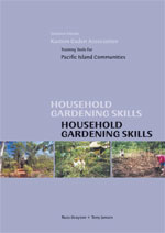 cover of household gardening skills