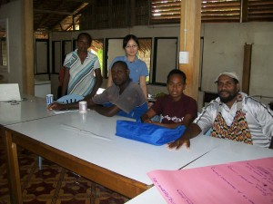 Participants at the workshop including a JOCV Voluteer -Ms Yokuki